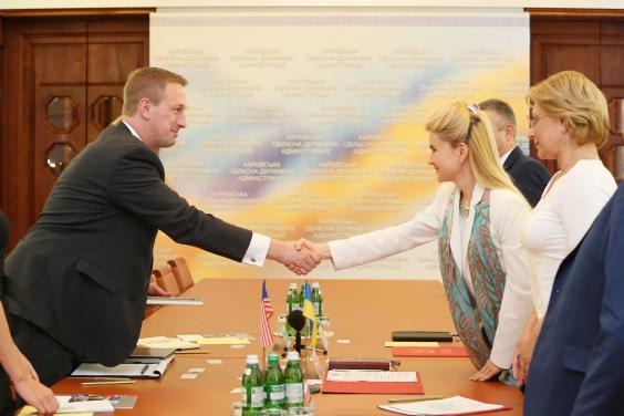 Юлія Світлична провела зустріч з делегацією Центру міжнародного приватного підприємництва (CIPE)