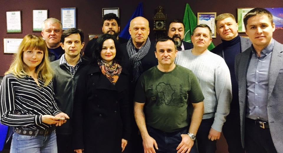 Команда проекта «ЗміниТИ» в гостях у «Ассоциации частных работодателей»