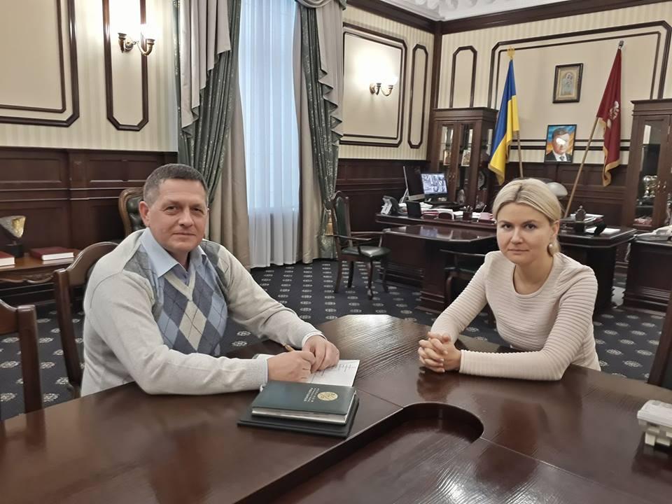 Состоялась рабочая встреча с губернатором Харьковской области