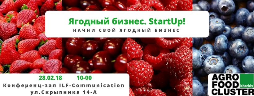 Семинар «Ягодный бизнес. StartUp! Начни свой ягодный бизнес
